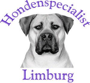 Hondenspecialist Limburg letters en kop Boerboel